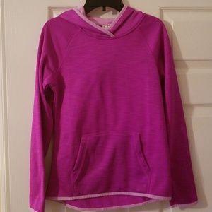 Danskin Now hooded sweater L